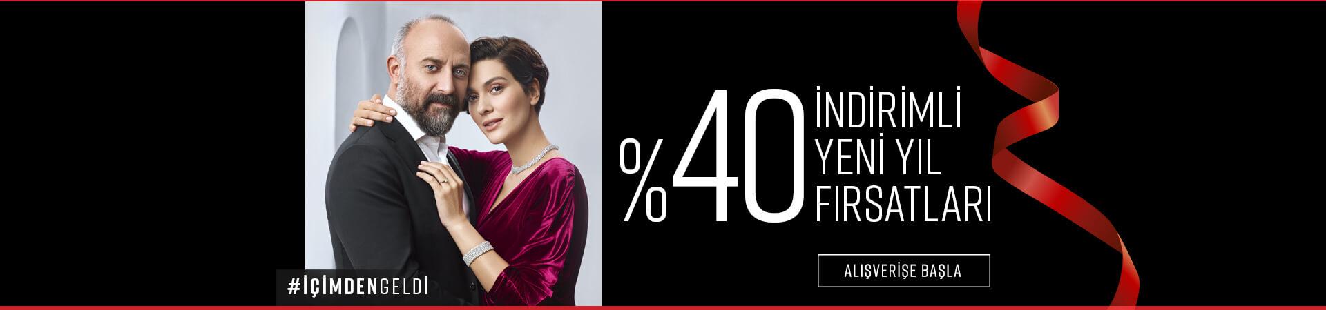 %40 indirimle yeni yıl fırsatları