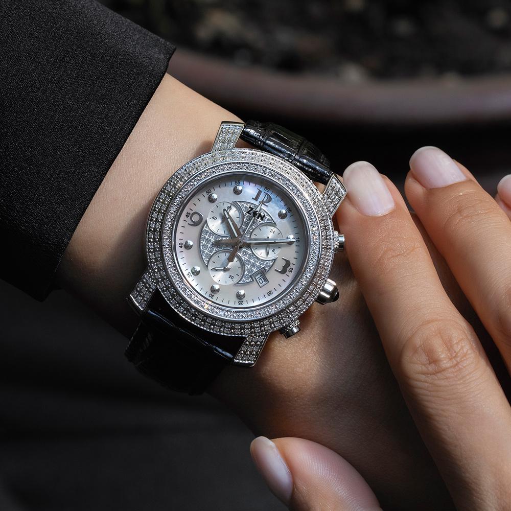 0.90 Karat Pırlantalı Kadın Saati