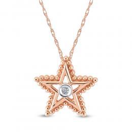 Yıldız Pırlanta kolye